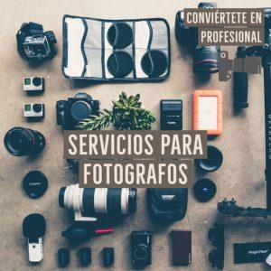 Servicios para Fotógrafos
